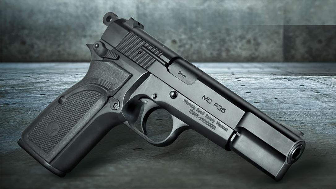 The Girsan MC P35 Semi-Auto Pistol pays homage to a classic John Browning design.