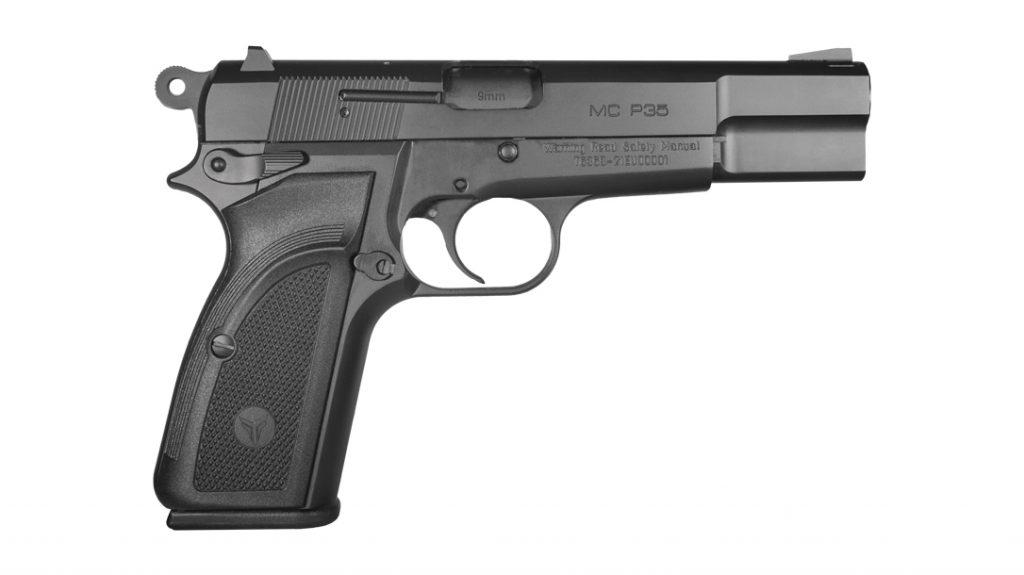 Left side profile of the MC P35