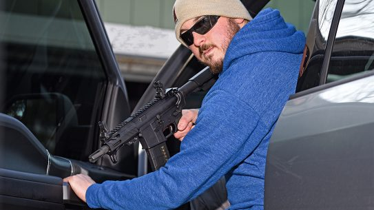 The Rock River Arms RUK-15 AR pistol is perfect for personal defense in the home or vehicle.