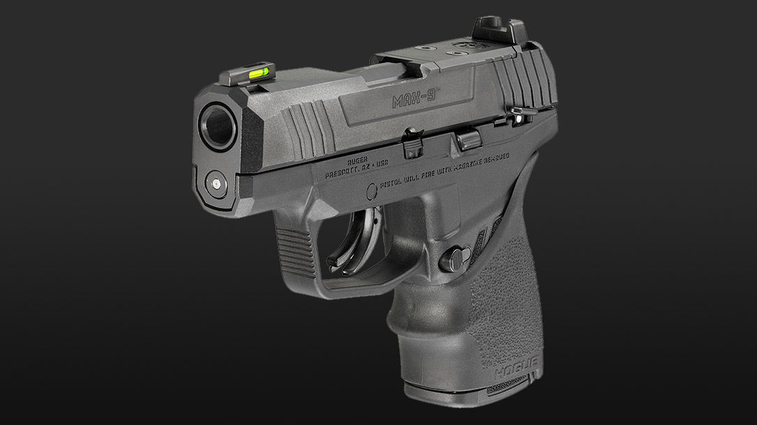 The Ruger Max-9 Hogue is Ruger's entry into the micro compact club.