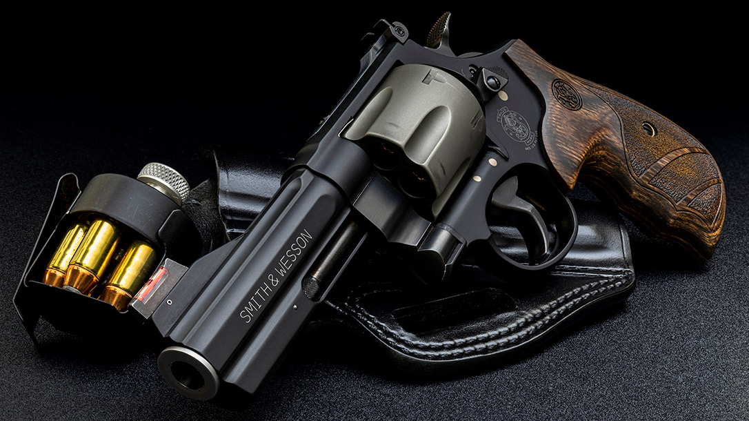 Carry a lot, shoot a little with the Smith & Wesson 329pd Airlite 44 Mag.