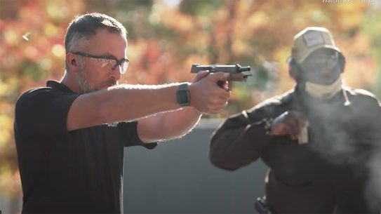 A magazine reload is a critical component to EDC training.