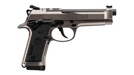 The Beretta 92X Performance Defense.