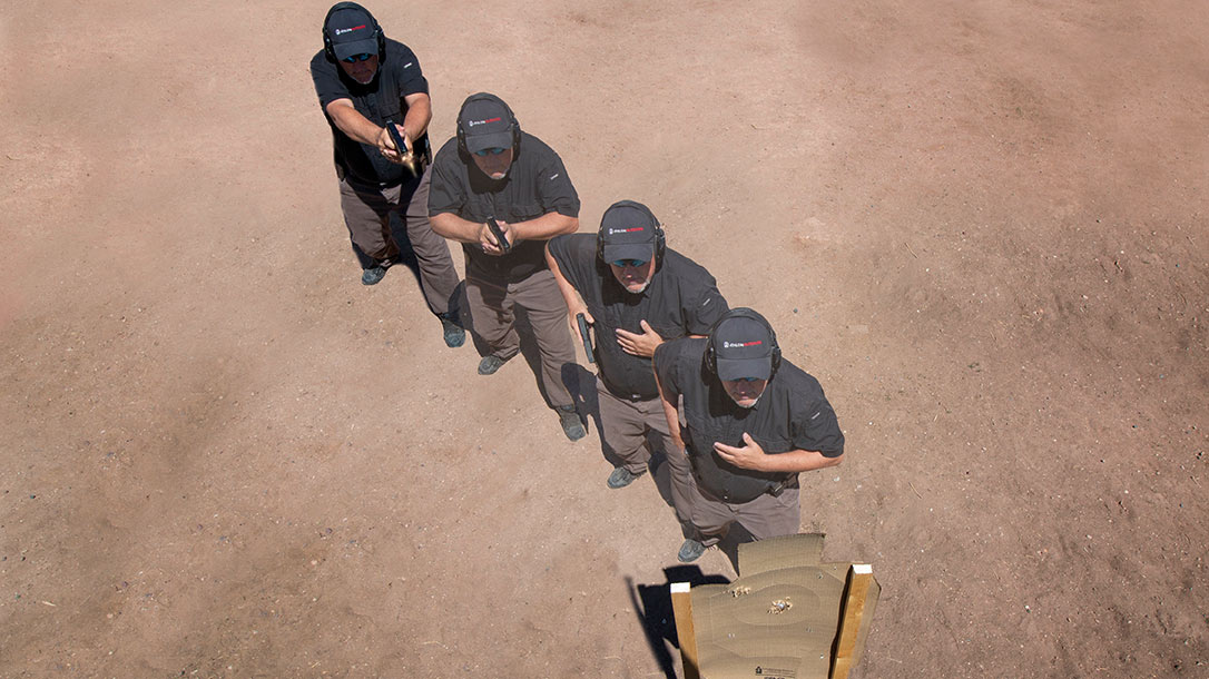 Combat Shooting and Tactics includes shooting on the move. Shooting on the move provides us with a tactical advantage over our adversary—an important factor in any gunfight.