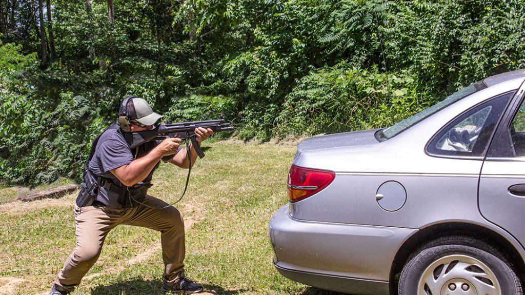 Combat shooting should include vehicle tactics.