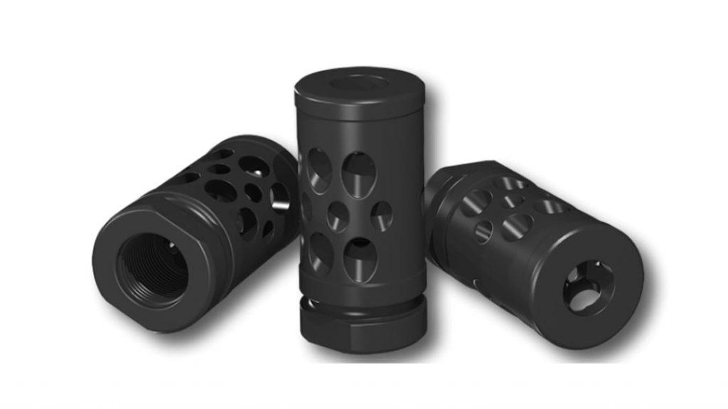 The HIPERFIRE HIPERCOMP Recoil Compensators 9mm.