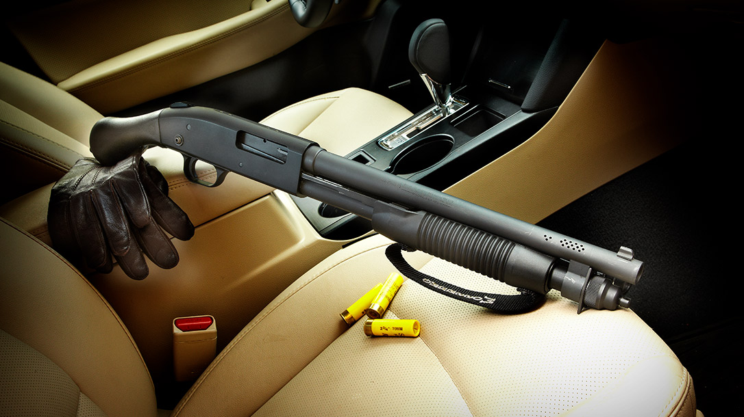 The Mossberg 590 Shockwave 20-Gauge is a solid choice for home and personal defense.