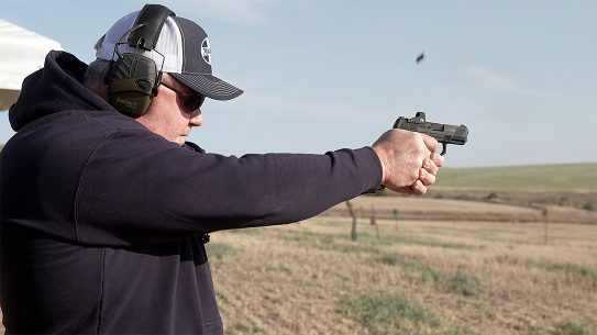 The new Mossberg MC2sc comes optics-ready for up to 14 rounds of 9mm.