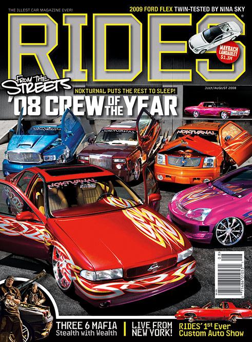 July August 2008 Rides Magazine