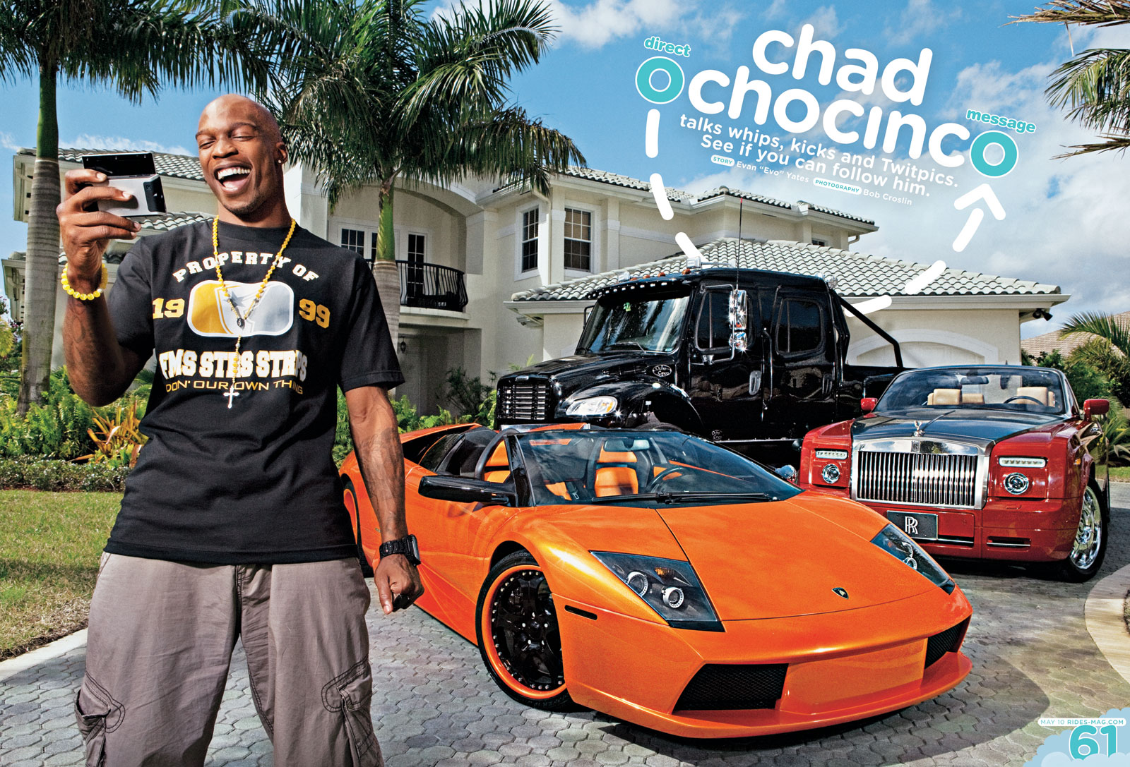 Chad Ochocinco Direct Message Rides Magazine