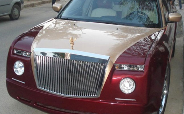 rides, cars, rolls, royce, rolls-royce, phantom, wanna-be, chrysler, 300, 300c