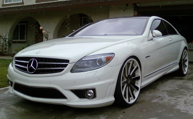2008 Mercedes Benz Cl63 Amg Rides Magazine
