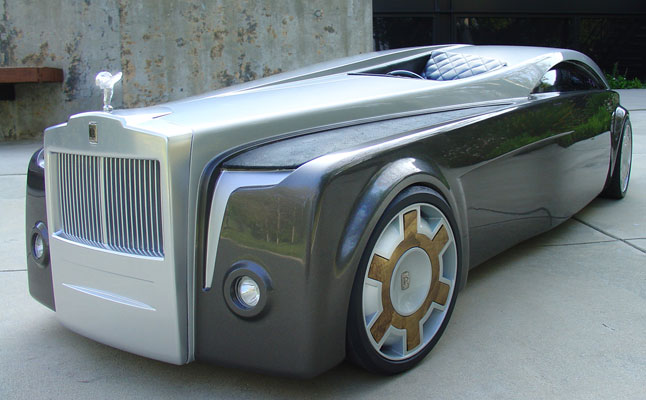 cars rides rolls-royce apparition concept
