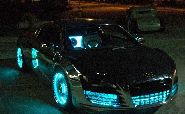 cars rides west coast customs audi r8 tron