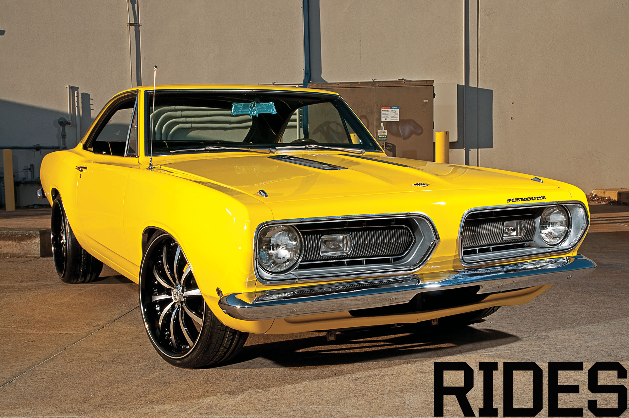 1968 Plymouth Barracuda - Rides Magazine