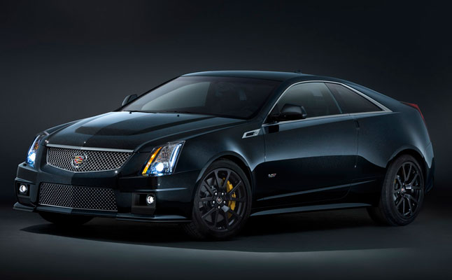 Cadillac Shows Off Black Diamond Cts V