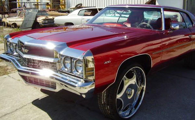 rides cars 1972 chevrolet caprice donk