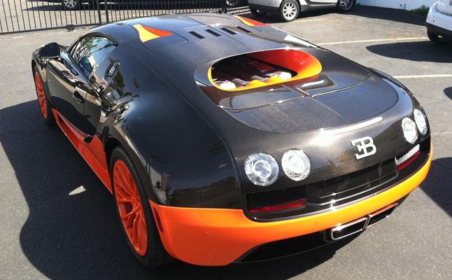 rides cars bugatti veyron super sport world record edition