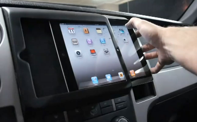Check Out The First In Dash Ipad 2 Installation Rides