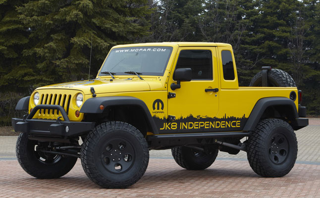 Build Your Own Jeep >> Jeep Creates A Build Your Own Pickup Kit Rides Magazine