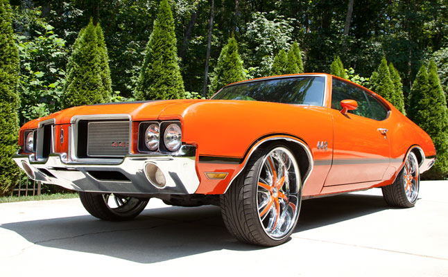 rides cars t-pain oldsmobile 442