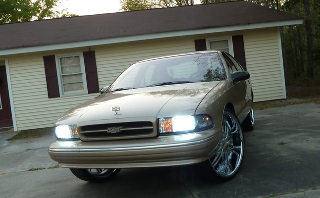 rides cars chevrolet caprice bubble beige
