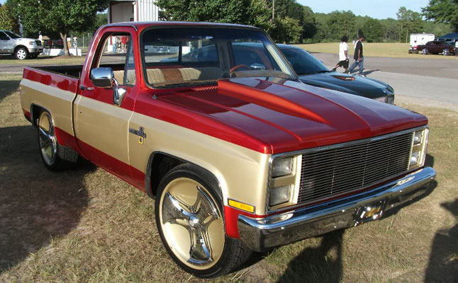 rides cars chevrolet c/k cotd 80s