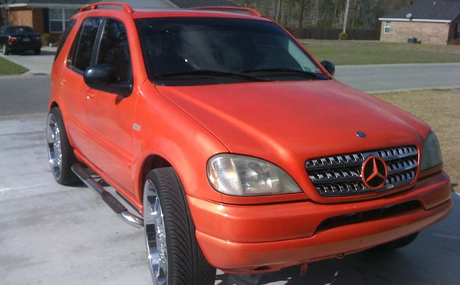 rides cars mercedes-benz ml-class sam dunn