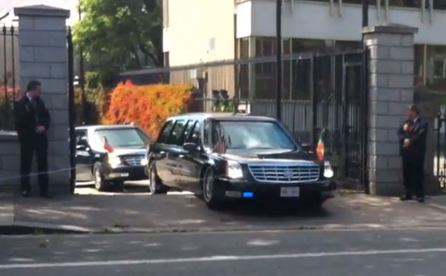 rides cars barack obama limo limousine caddy cadillac