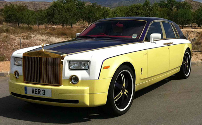 rides cars rolls-royce phantom excessive marbella