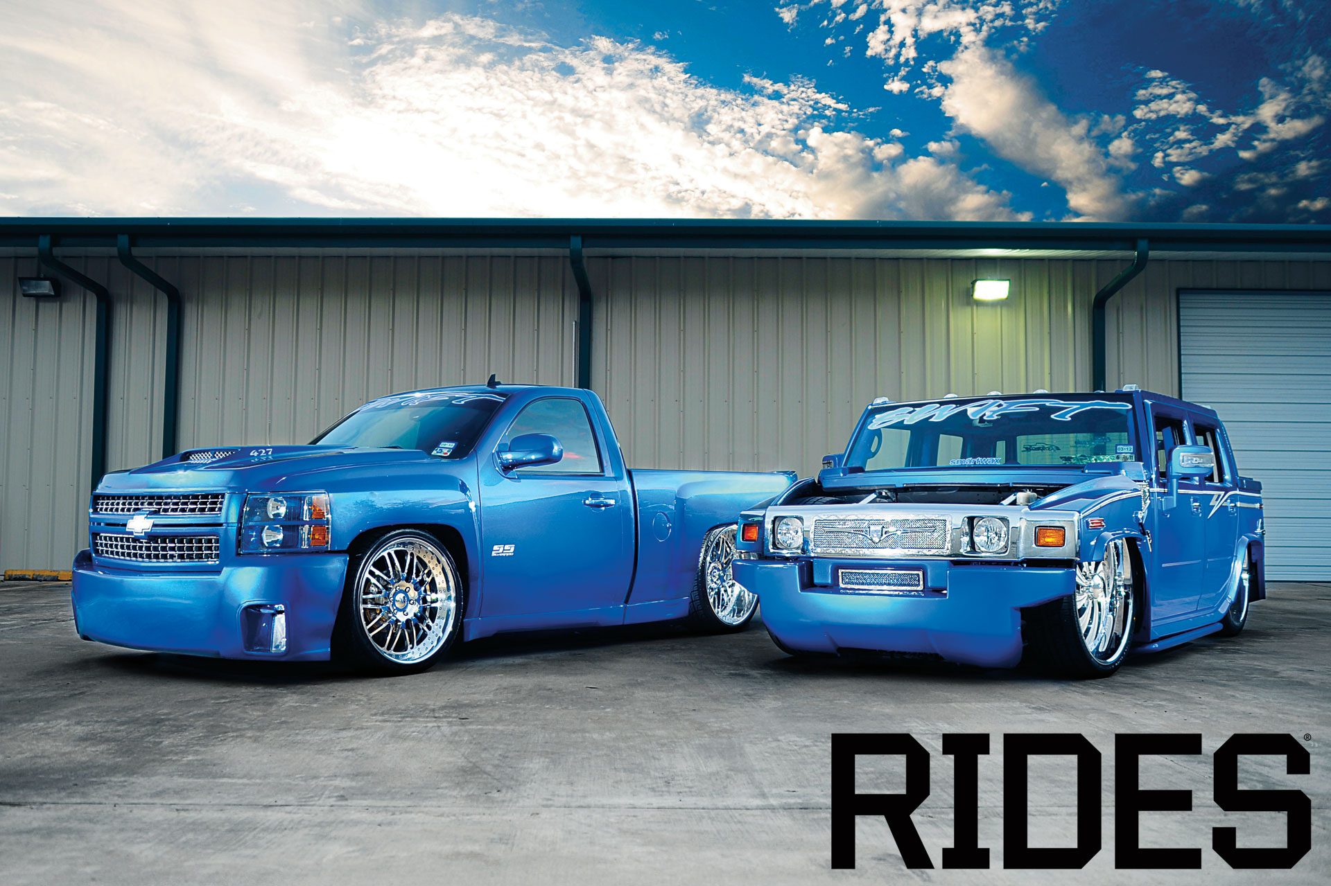 rides cars swift-texas-wallpaper chevrolet silverado hummer