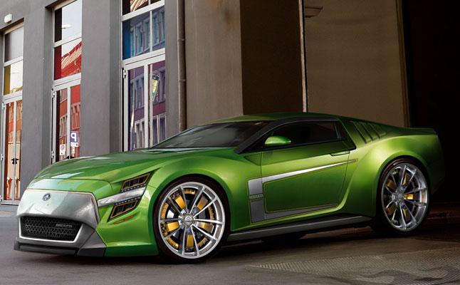 rides cars Jakusa Bossco camaro mustang concept