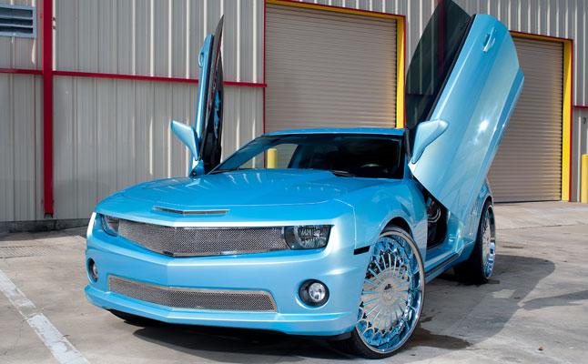 2010 Chevy Camaro Ss Blue Crush Rides Magazine