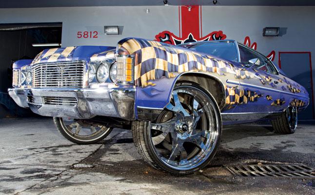 rides cars donk vet '71 chevy impala