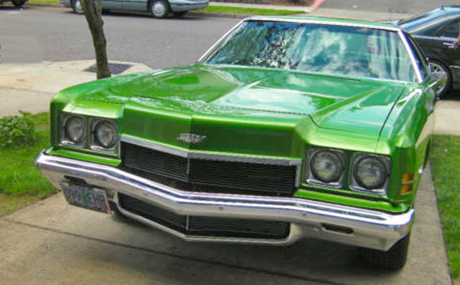 rides cars chevy-impala-green-donk-cotd chevrolet