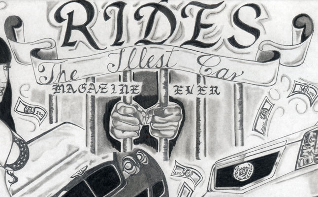 rides cars drawings art aaron thompson centennial colorado co