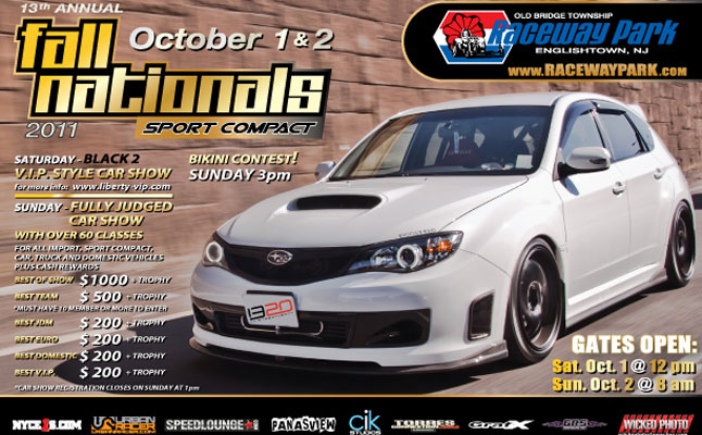 rides cars fall nationals sport compact show