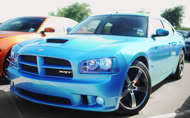 rides cars super-bee-dfwlx-blue-charger-feat