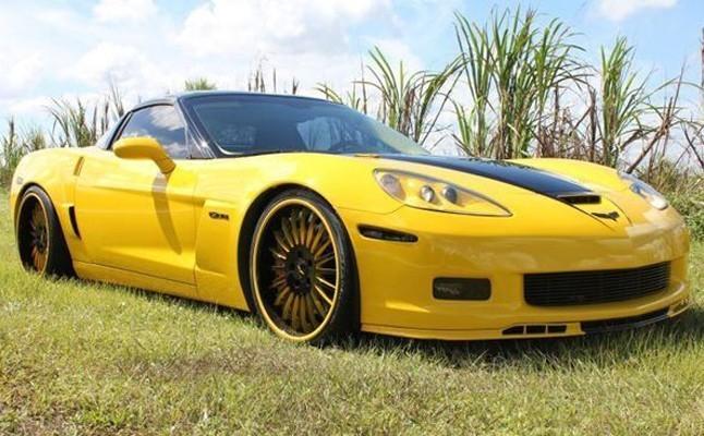 Chevrolet, Chevy, Corvette, Custom, Z06, 2007, Rides