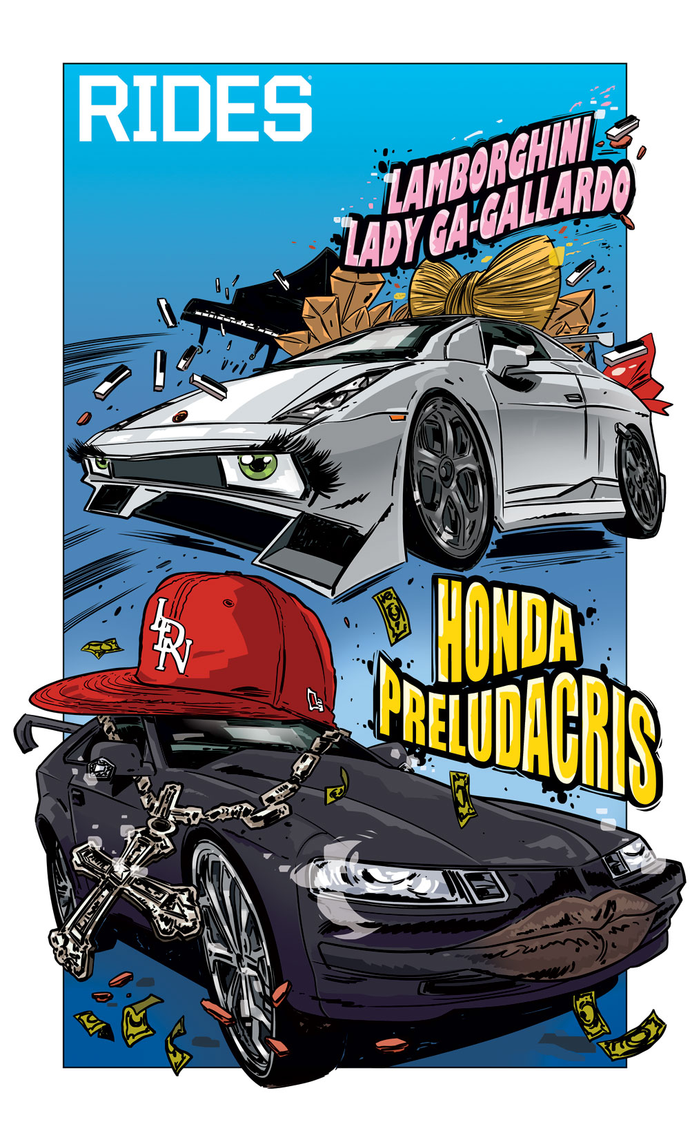 rides cars honda preludacris lamborghini lady ga-gallardo tin salamunic