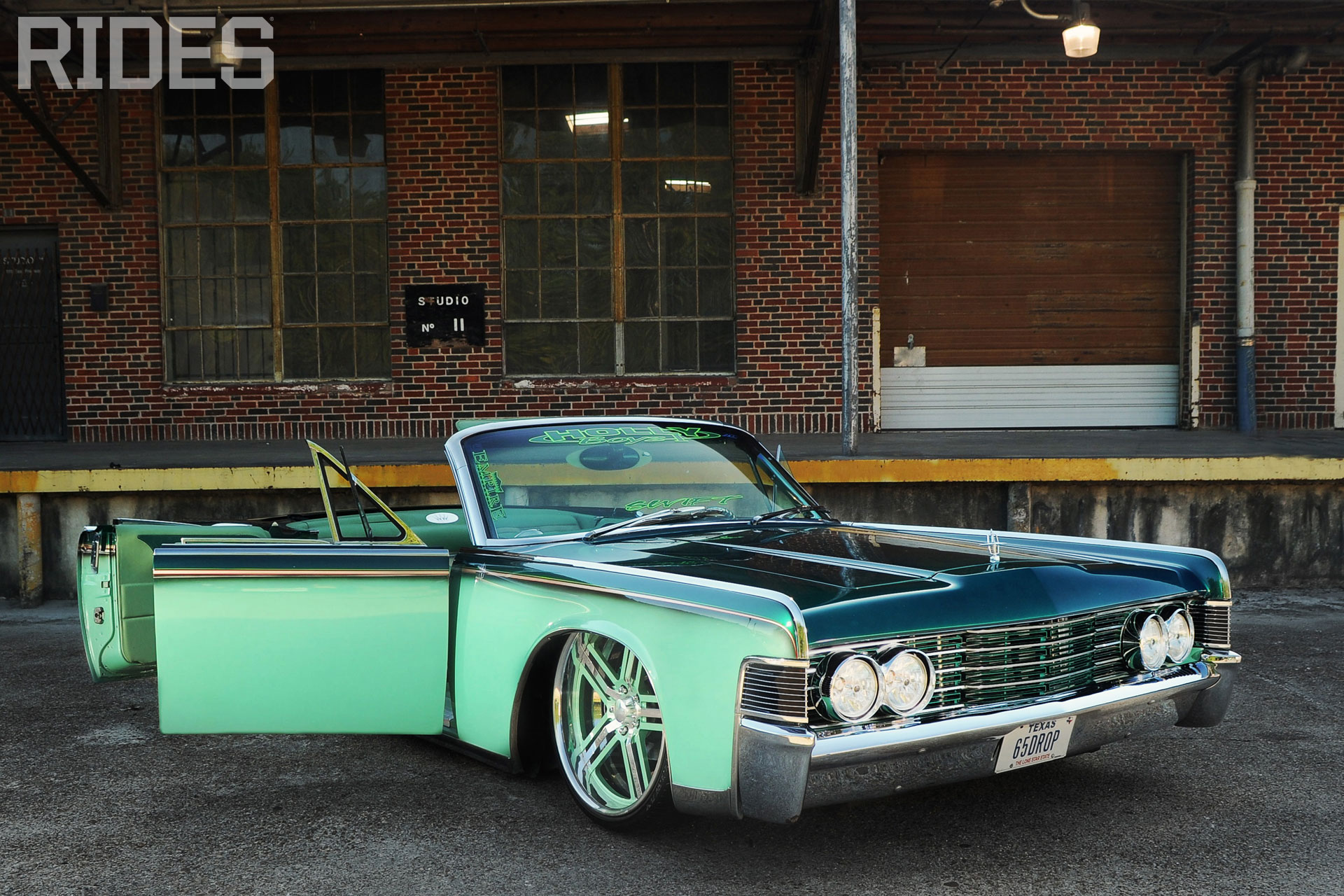 65 Lincoln Continental Rides Magazine