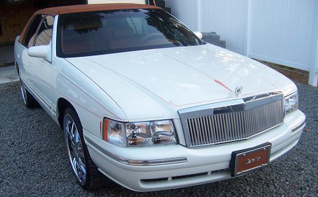 1998, Cadillac, Deville, Custom, Rides