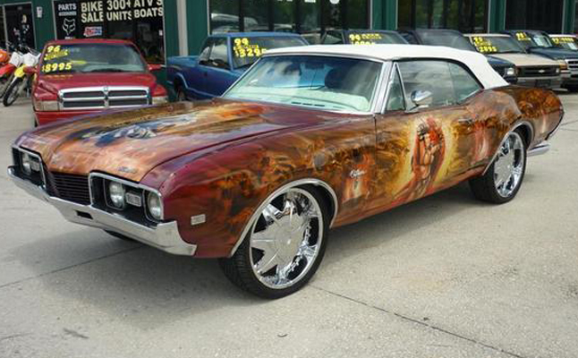 1968, Oldsmobile, Cutlass, Custom, Rides