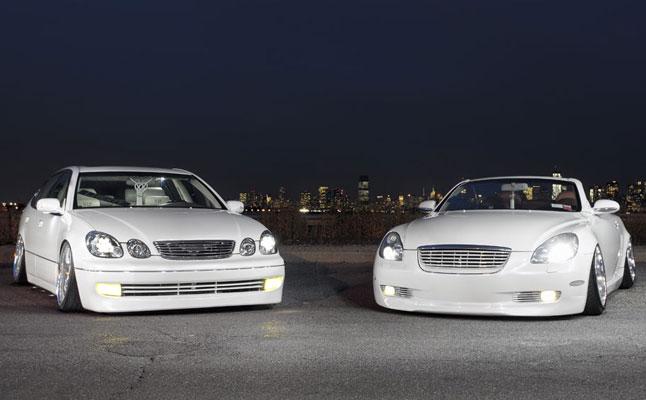 Liberty VIP: Lexus SC430 and GS400 - Rides Magazine