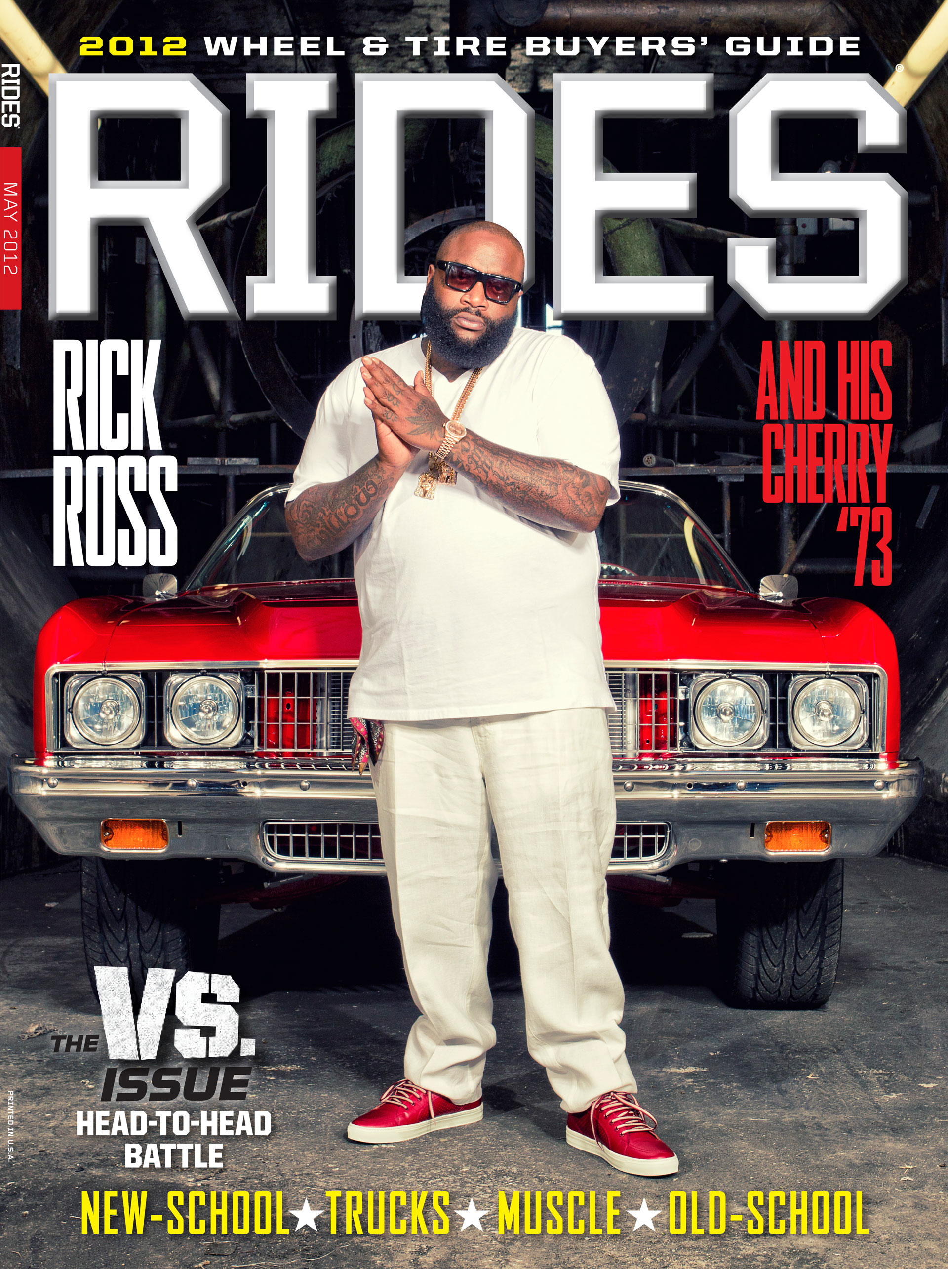 rides cars 54 issue may 2012 rick-ross versus vs alternate cover