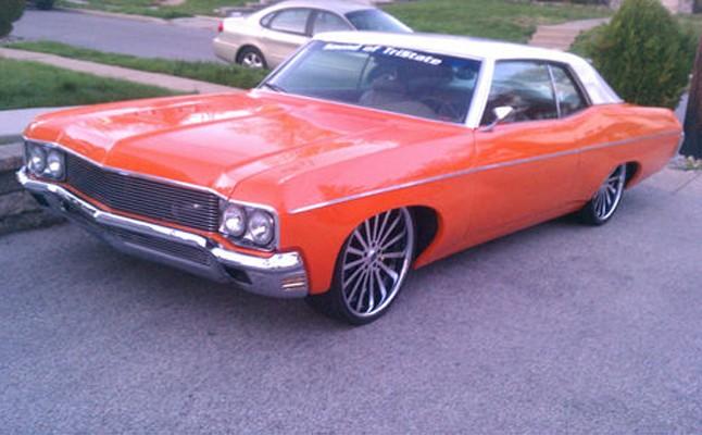 Chevrolet, Chevy, Impala, Custom, 1970, Rides