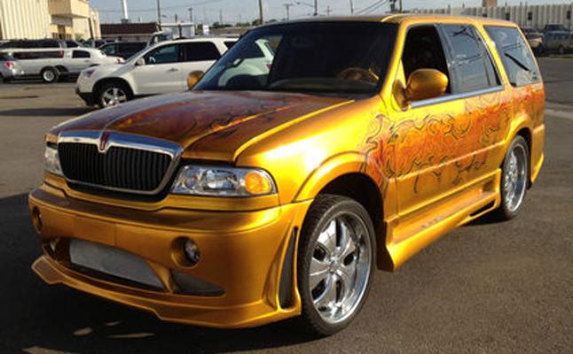 2002, Lincoln, Navigator, Custom, Rides