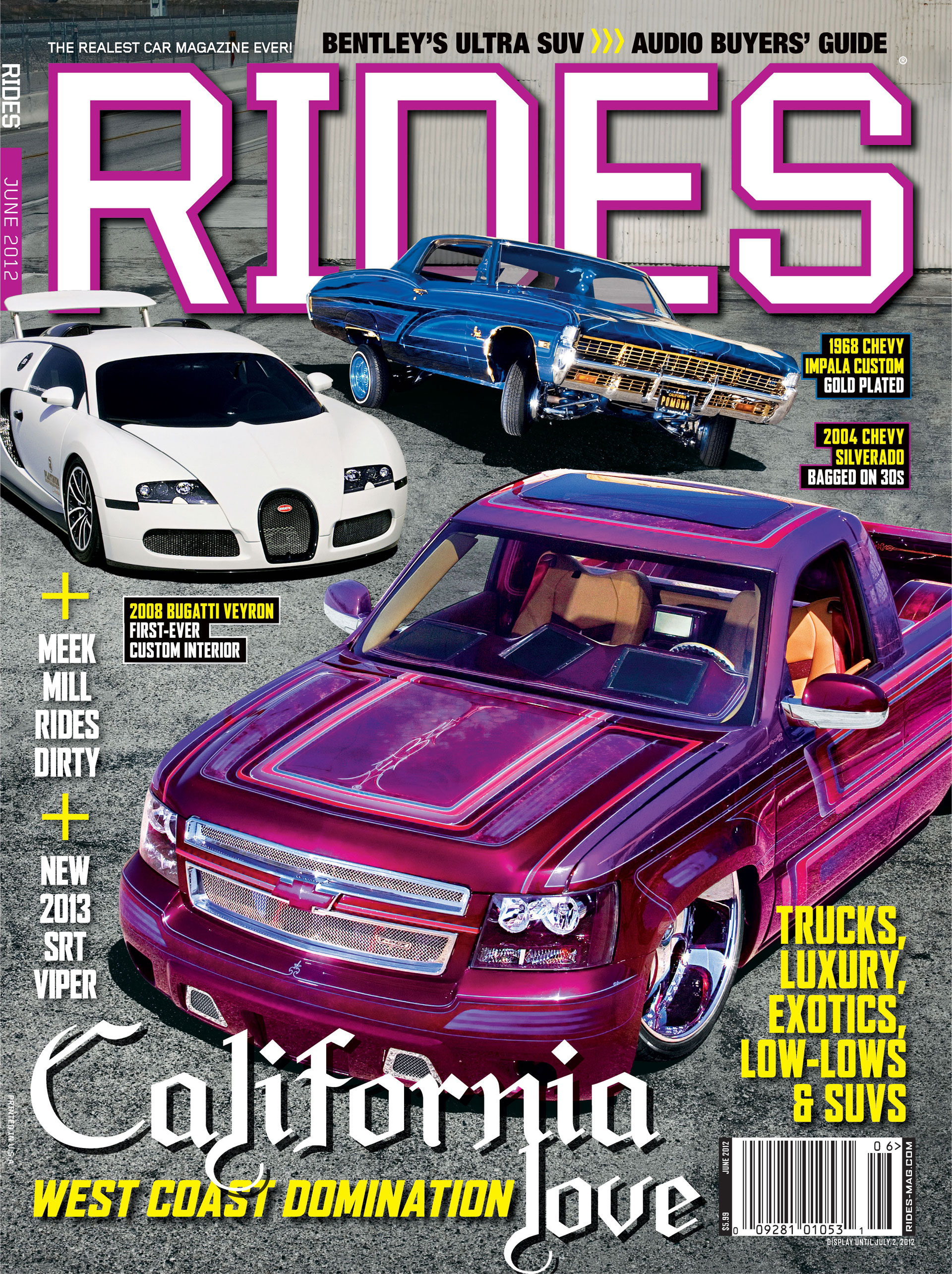 Rides June 2012 Cover Revealed Rides Magazine