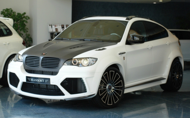 rides bmw x6 m mansory cars suv bimmer ugly as sin