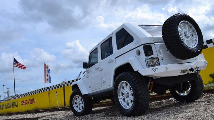 rides rafael furcal jeep wrangler v8 mc customs